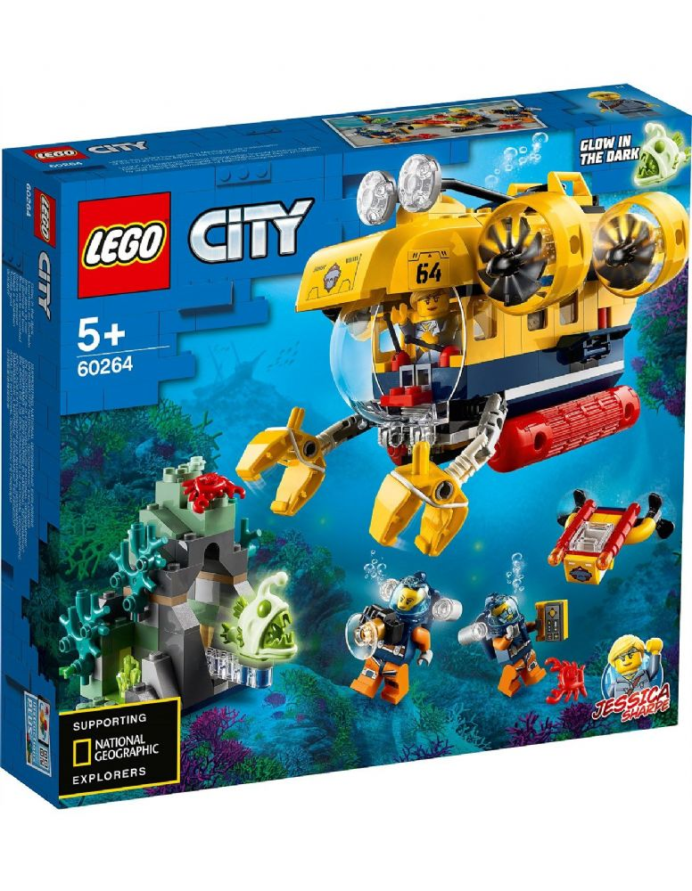 LEGO 60264 City Ocean Exploration Submarine